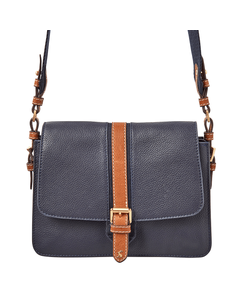 Joules Ladies Wimbourne Carriage Leather Cross Body Bag
