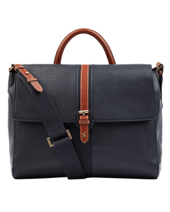 Joules Ladies Banbury Carriage Leather Tote Bag