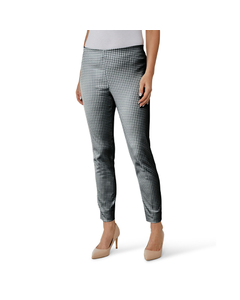 Gardeur Ladies Zene34 Houndstooth Print Trouser