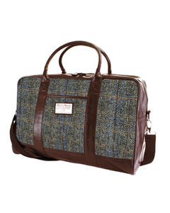 The British Belt Company Carloway Brown PU Holdall