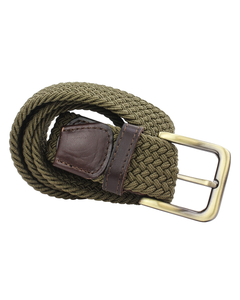 The British Belt Company Mens Webbing Belt