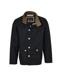 Barbour Mens Qube Wax Jacket