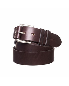 RM Williams Mens 1.5in Covered Buckle Belt