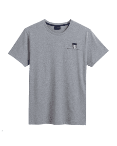 Gant Mens Archive Shield Embroidered Tee