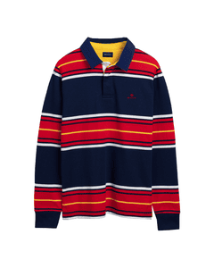 Gant Mens Multistripe Heavy Rugger Top