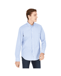 Eden Park Mens Pop Mini Check Button Down Shirt