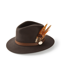 Hicks & Brown Ladies Suffolk Gamebird Fedora