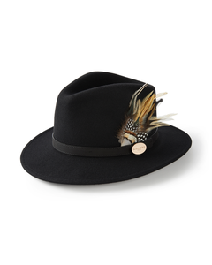 Hicks & Brown Ladies Suffolk Guinea and Pheasant Fedora