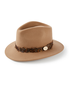 Hicks & Brown Ladies Suffolk Pheasant Wrap Fedora