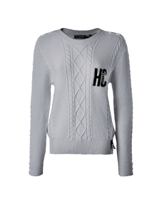 Holland Cooper Ladies Varsity Cable Knit