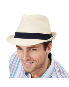 Joules Mens Halstow Paper Structured Hat