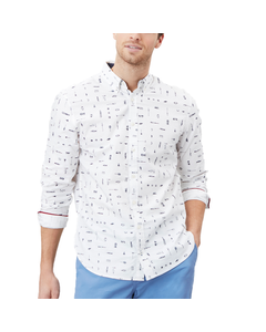 Joules Mens Invitation Classic Fit Printed Shirt