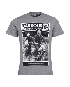 Barbour International Mens Racer Tee