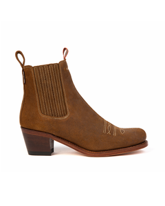Penelope Chilvers Ladies Salva Oiled Suede Boot