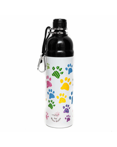 Long Paws Stainless Steel Lick 'n Flow Pet Water Bottle - 750ml