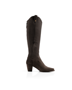 Fairfax & Favor Ladies Knee High Rockingham Suede Boot